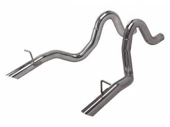 Pypes 3?ǥ Prebent Factory Style Tailpipes for 1986-1993
