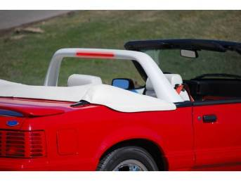 Light Bar, Convertible, White Vinyl, Classic Design Concepts,