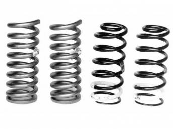 COIL SPRING SET, PROGRESSIVE RATE, FORD RACING, 460