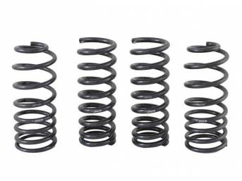 COIL SPRING SET, PROGRESSIVE RATE, FORD RACING, 500