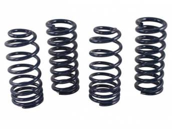 Coil Spring Set, Sport, Steeda, Designed To Lower