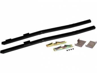 STEEDA Full Length Subframe Connectors (Black Powdercoated) for 79-04