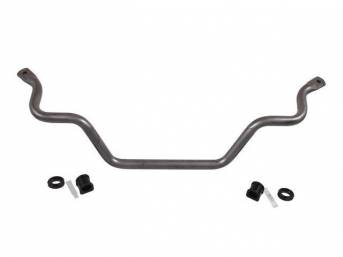 Sway Bar, Front, Hellwig, 1 3/8 Inch, Gray Hammer Tone Finish, Tubular Dom Steel, Incl Polyurethane Bushings And Plated Hardware, W/ End Links