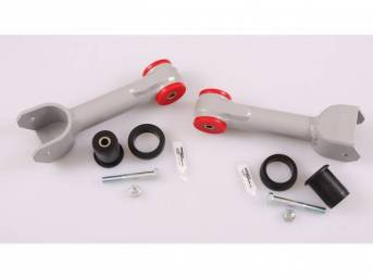 Control Arm Kit, Rear Upper, Tubular Aluminum, Black,