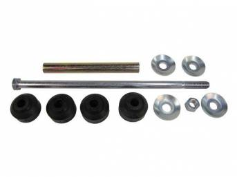 End Link Kit,  Front Sway Bar, Professional Grade, Incl Bushing, Washers, And Nuts