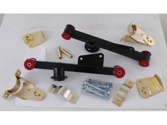 Lift Bars, Traction Action, Lakewood, Black Powder Coated,