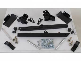 Lift Bars, Adjustable, Lakewood, Black Powder Coated, Incl