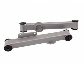 Control Arm Kit, Rear Lower, Box Steel, Black,