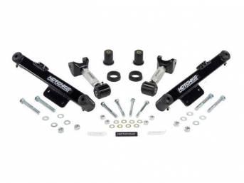 Control Arm Kit, Upper And Lower, Adjustable, Black,