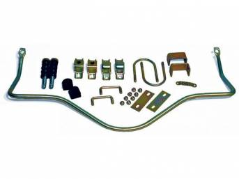 Sway Bar Kit, Rear, Steeda, Adjustable, Incl Spring Loaded Style End Links, Hardware And Brackets, Works With Stock Rear Bars To Improve Handling