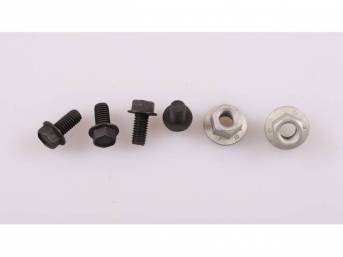 Mounting Kit, Motor Mount, Complete, Incl (2) Correct