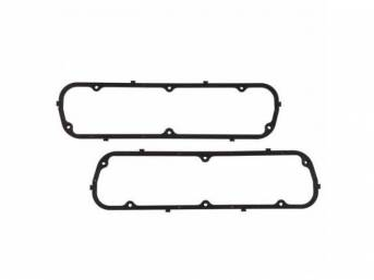 Gasket, Valve Cover, Rubber W/ Steel Core, Pair,