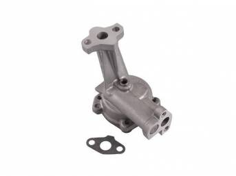 OIL PUMP, STD VOLUME, FORD RACING, REQUIRES BOLT