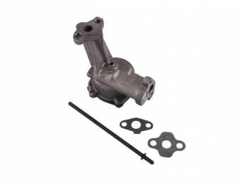 OIL PUMP, HIGH VOLUME, FORD RACING, REQUIRES BOLT
