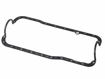 GASKET OIL PAN ONE PIECE RUBBER FORD RACING