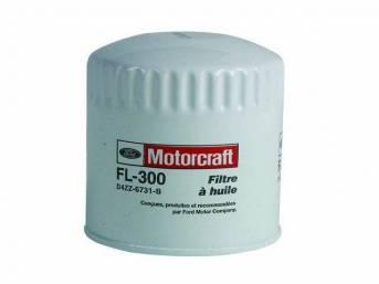 Oil Filter, Spin-On, Motorcraft