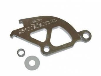 Clutch Quadrant, Double Hook, Steeda, Billet Aluminum, Designed