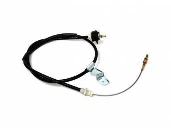 Cable Assy, Clutch Release, Bbk, Incl Heavy Duty Adjustable Clutch Cable, Replacement Cable For Kits M-7k553-112a And M-7k553-112b