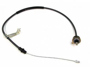 Cable Assy, Clutch Release, 59 1/4 Inch Long, Repro