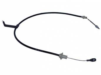 Cable Assy, Clutch Release, 56 1/4 Inch Long, Repro D9zz-7k553-B, D9bz-7k553-D