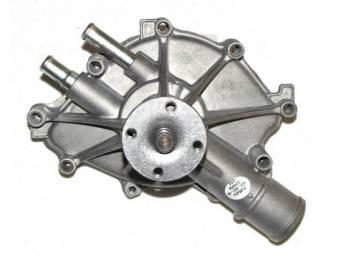 Water Pump, New, Original, Incl Gasket, Prior Part Number E6az-8501-A, Fozz-8501-A, F3zz-8501-A