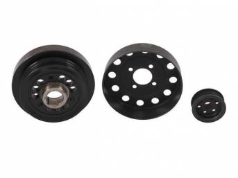 Pulley Kit, Steeda Underdrive, (3) Piece Set, Incl