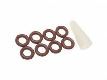 O-RING SET FUEL INJECTOR INCL 8 REPLACEMENT STYLE