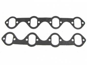 Gaskets, Header, Bbk Performance, Steel Wire Core Design, Use With 1 3/4 Inch Headers, Stock Port Design, Repro