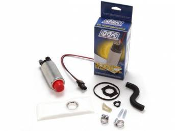 Electric Fuel Pump Kit, In Tank, Bbk Performance, 255 Lph, Incl Strainer And All Installation Hardware, Made To Oem Dimension For Proper Fit.