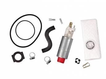 Pump And Installation Kit, Fuel, Walbro, 155 Lph