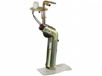 Fuel Pump Assy, W/ 3/8 Inch Outlets, Incl Pump, Hanger, Lock Ring And Gasket, Best Repro