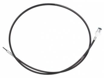 Cable Assy, Speed Control Speedometer, 71 Inches Long, Repro E3zz-9a820-A, E3zz-9a820-B, E6zz-9a820-A, E7zz-9a820-C, F2zz-9a820-C, E3bz-9a820-B, Fozz-9a820-C, E9bz-9a820-B, Fozz-9a820-B, F1zz-9a820-A