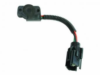 Potentiometer Assy, Throttle Position Sensor, W/ Id Codes *E6af-Ca*, *E6af-Da*