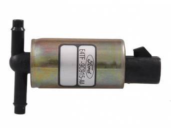 Valve Assy, Fuel Vapor Storage Canister Purge Regulator, Black, W/ Id Code *E4tf-Aa*, Original E9dz-9c915-A, Cx-1324