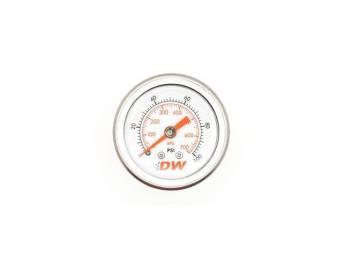 Gauge, Mechanical Fuel Pressure, Deatschwerks, 0-100 Psi Style,