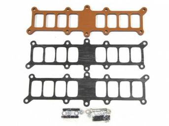 Spacer Kit, Phenolic Manifold, Bbk Performance, 3/8 Inch Thick, Incl Gaskets And Hardware, Designed For Proper Hood Clearance, Repro