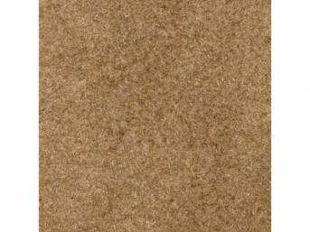 Carpet Standard Cut Pile Nylon Molded Sand Beige