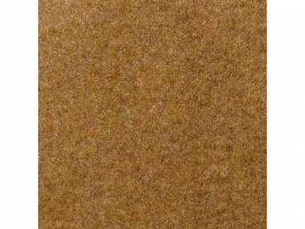 Carpet, Standard Cut Pile Nylon, Molded, French Vanilla,