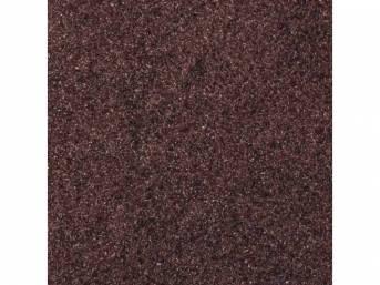 Carpet Standard Cut Pile Nylon Molded Walnut Incl
