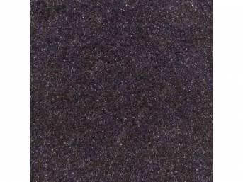 Carpet Standard Cut Pile Nylon Molded Black Incl