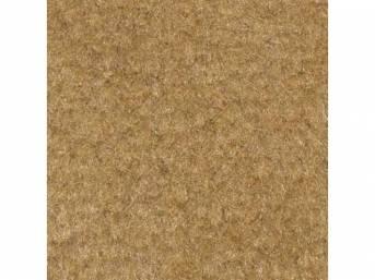 Carpet, Standard Cut Pile Nylon, Molded, Desert Tan,