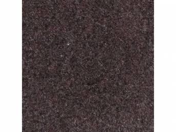 Carpet Standard Cut Pile Nylon Molded Ebony Incl