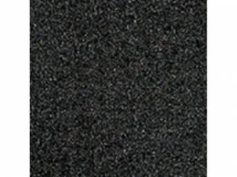 Carpet Standard Cut Pile Nylon Molded Dark Charcoal