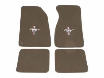 Floor Mats Carpet Cut Pile Nylon Saddle W/
