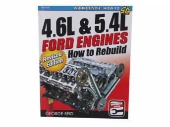 Book, 4.6l And 5.4l Ford Engines, How To Rebuild, By George Reid, Paperback, 144 Pages