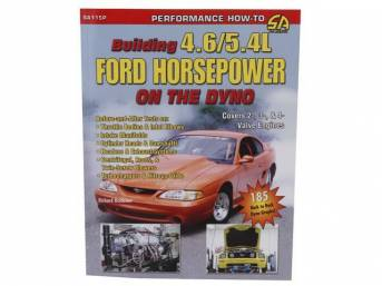 Book, Building 4.6l / 5.4l Ford Horsepower On The Dyno, By Richard Holdener, Paperback, 208 Pages