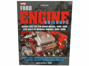 Book, Ford Engine Buildups, From The Editors Of Muscle Mustangs And Fast Fords Magazine, 166 Pages