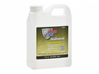 SOLVENT, POR-15, quart, the only appropriate solvent to