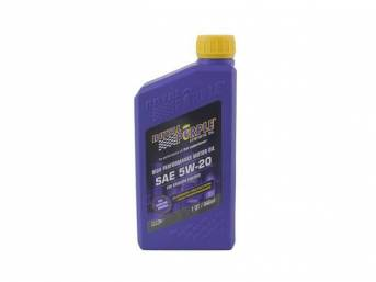 Synthetic Oil Royal Purple Sae 5w-20 1 Quart