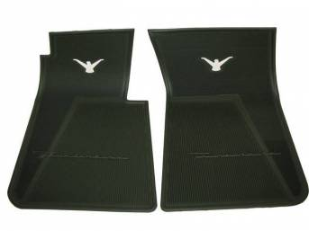 FLOOR MATS, RUBBER, WILLOW GREEN
